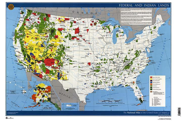 Federal Lands Map | Veritas Research Consulting